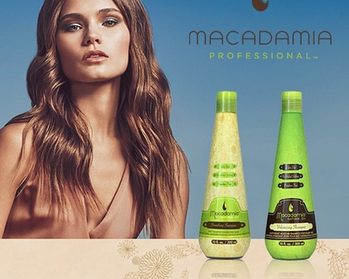New hair care by Macadamia!